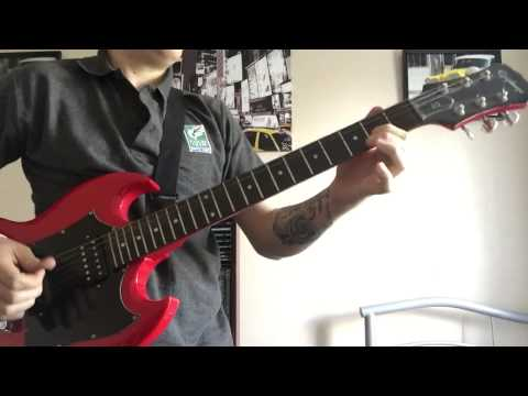 Jace Everett - Bad Things ( True Blood Theme) Guitar Cover
