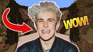 JAKE PAUL THEME?! (Minecraft Build Battle)