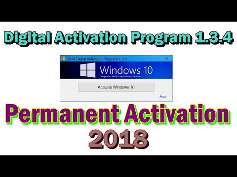 windows 10 digital activation program 1.3.6