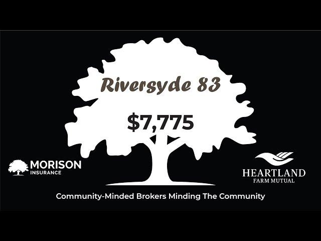 Morison Insurance & Tri-County Insurance Donate $7,775 to Riversyde 83