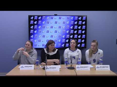 NCAA VB | Cal State San Bernardino Post Game Interview