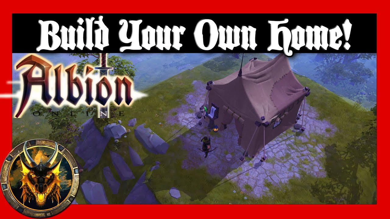 Build your own home albion online closed beta youtube Build my own home online