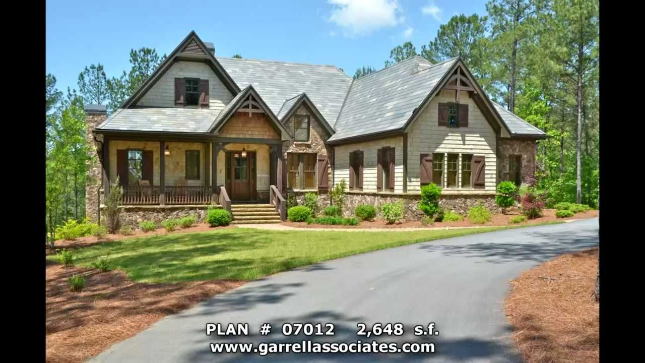 BIG MOUNTAIN LODGE HOUSE PLAN BY GARRELL ASSOCIATES, INC. MICHAEL W.  GARRELL GA 56   YouTube