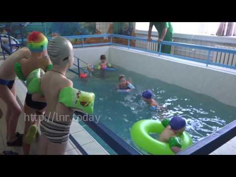 Открытие бассейна в 1 й детской больнице