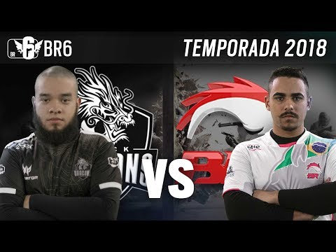 [BR6] BRK E-SPORTS vs BLACK DRAGONS (Temporada 2018)