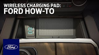Inductive Wireless Charging Pad | Ford How-To | Ford