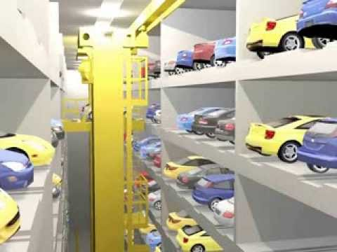 Automatic car parking Delhi GMR Airport