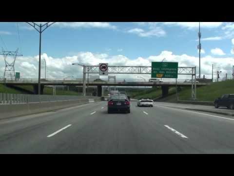 PIERRE LAPORTE BRIDGE, QUEBEC, CANADA