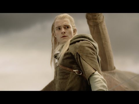 "The Lord of the Rings - The Return of the King - ""Legolas Slays a Mumakil"" Clip [HD]"