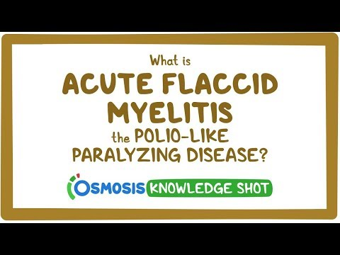 What is acute flaccid myelitis, the polio-like paralyzing disease?