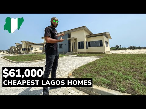 Inside The CHEAPEST HOMES in Lagos Nigeria! (crazy cheap houses)