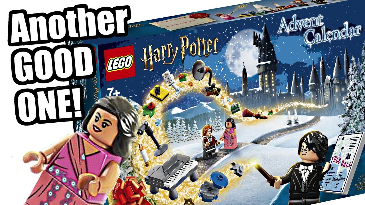 LEGO Harry Potter 2020 Advent Calendar! SPOILERS: Pretty good