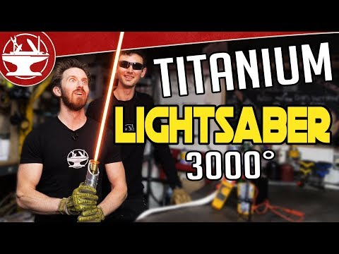 3000°-titanium-lightsaber-build!