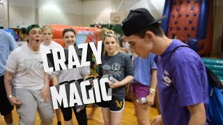 Doing Magic At Our High School | The Prophets Magic