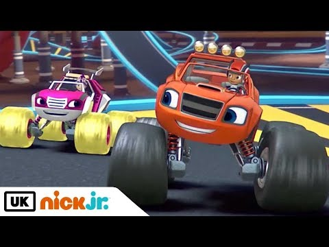 Blaze and the Monster Machines | Raceday Rescue | Nick Jr. UK