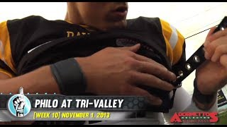 HS Football: Philo at Tri-Valley (11/1/13)