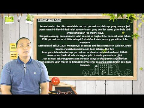 """Video Pembelajaran PJOK Kelas 4 Materi """"Permainan Bola Kasti"""""""