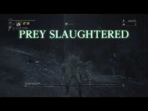 Bloodborne Beast Claws Build Level 125 NG+6 Hyper Mode