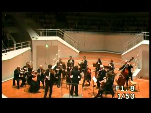 Mozart Concerto No 5. 3rd. Mvt Rondeau. Michael Barenboim (Violin). Rimma Sushanskaya (Conductor)