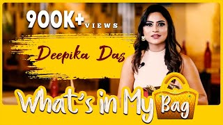 EXCLUSIVE : What's in My Bag With Deepika Das | Fashion | Anushree Anchor