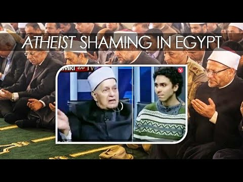 "Egyptian T.V. host to atheist guest: ""you need psychiatric treatment"""