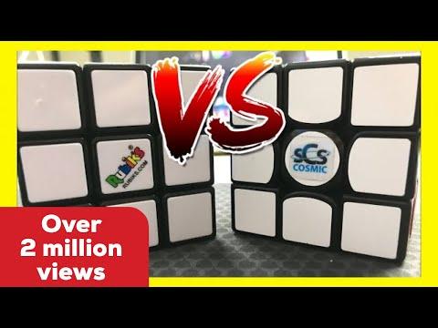 Rubik's Brand vs. $75 Speed Cube