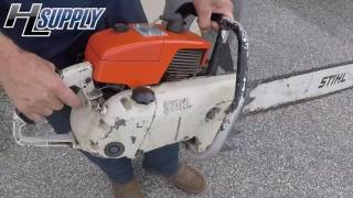 CJ Shows us his Legendary 090 Chainsaw