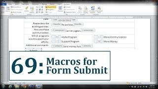 Microsoft Word: Create a Submit Form Button thumbnail