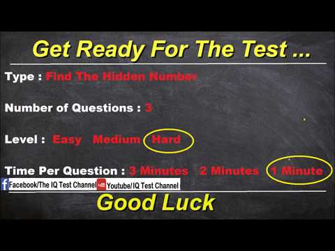 How good is your eyesight challenge - Test it now (Answers)