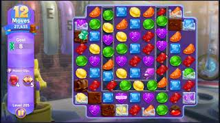 Wonka's World of Candy Level 205 - NO BOOSTERS + FULL STORY ???? | SKILLGAMING ✔️