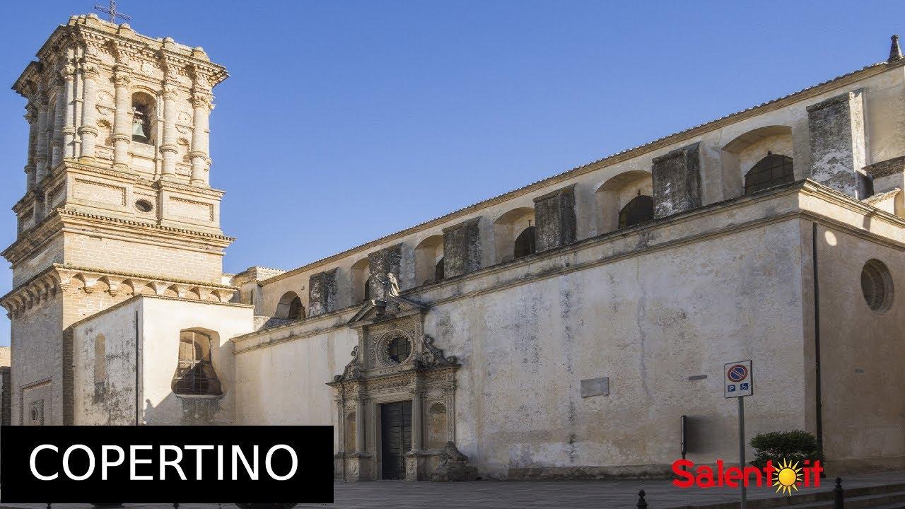 La città di Copertino, in provincia di Lecce (Salento ...