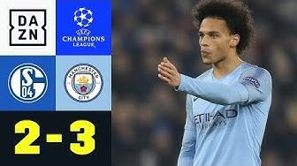 Traum-Freistoß von Ex-Knappe Leroy Sane: Schalke 04 - Manchester City 2:3 | Champions League | DAZN