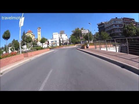 Larissa empty City - Street view 15 Aug Greece