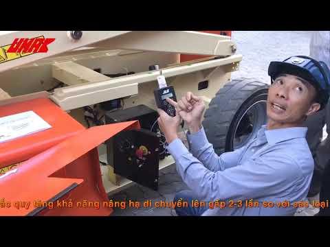 Đào tạo vận hành xe nâng người cắt kéo 3369LE