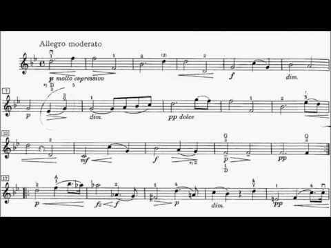 Trinity TCL Violin 2016-2019 Grade 5 B2 Dvorak Romantic Piece Op.75 No.1 Sheet Music