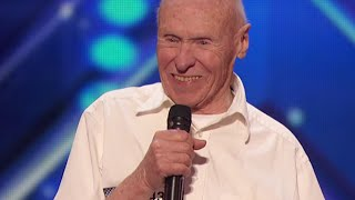 Old Man KILLS Drowning Pool Song on America's Got Talent | What's Trending Now
