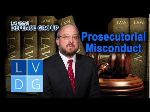 Prosecutorial misconduct in Nevada – 5 examples of how it happens
