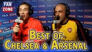 FanZone: The best of Arsenal and Chelsea