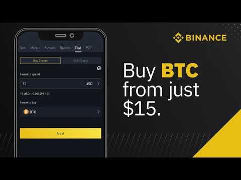 Buy Bitcoin via Binance Crypto Exchange