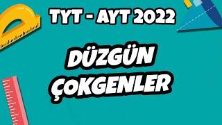 Düzgün Çokgenler  TYT - AYT Geometri 2022 hedefekoş