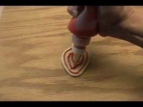Cookie Decorating Squeeze Bottles New Using Squeeze Bottles To Decorate Cookies  Youtube Design Decoration