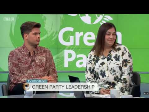 Green Party members discuss leadership elections