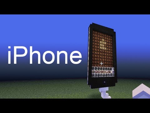 Minecraft iPhone 5 funkcjonujacy Touchscreen