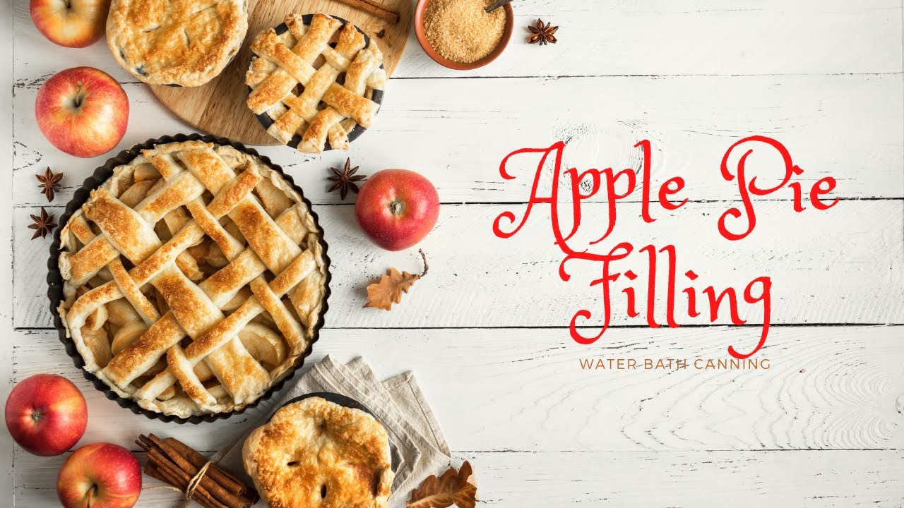 Apple Pie Filling // Water Bath Canning
