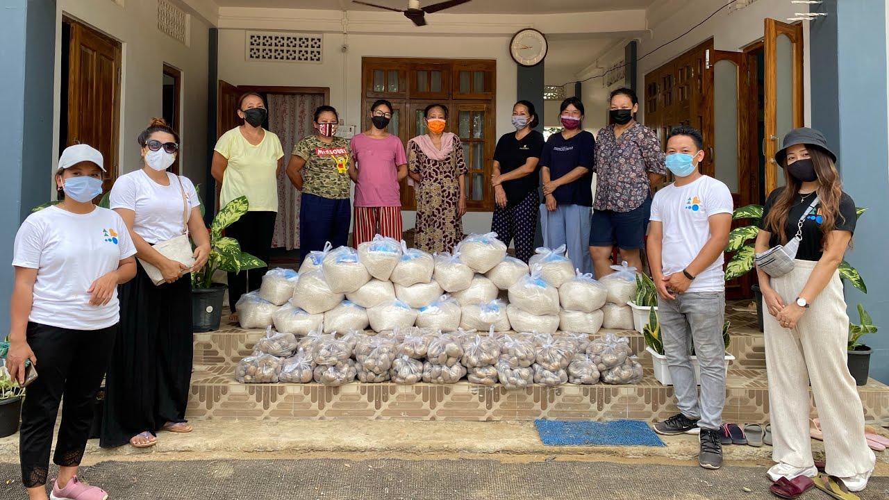 Distributing food in Dimapur | Together for Nagaland