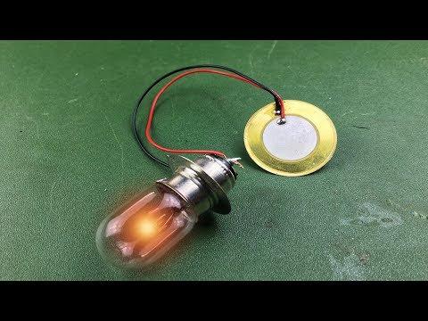 Free Energy Piezoelectric Generator Using Buzzer