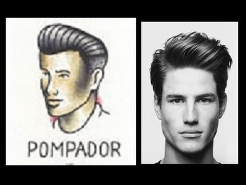 mens tutorial classic and modern pompadour youtube