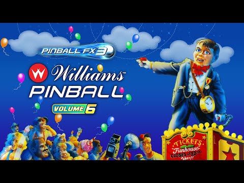 Williams Pinball Volume 6 Coming Soon! FunHouse, Dr.Dude & Space Station!