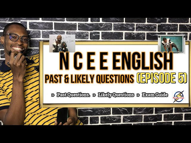 Common Entrance (NCEE) English Questions | Episode 5