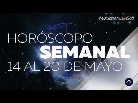 HORÓSCOPO SEMANAL | 14 AL 20 DE MAYO | ALFONSO LEÓN ARQUITECTO DE SUEÑOS